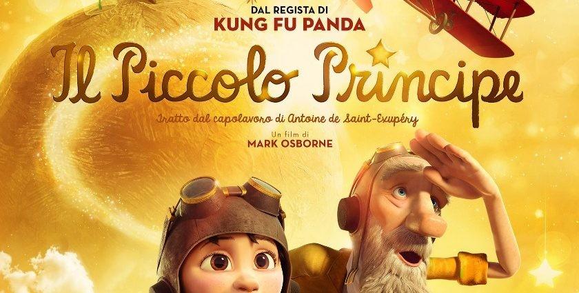 Il Piccolo Principe -Tratto dal romanzo Antoine De Saint-Exipéry-Regia del film è di Mark Osborne