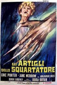Locandina: Gli Artigli dello Squartatore, diretto da Peter Sasdy (1971)