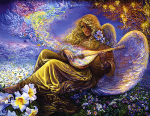 Angel melodies - Josephine Wall