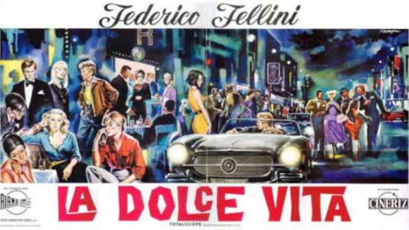 Locandina film: La Dolce Vita