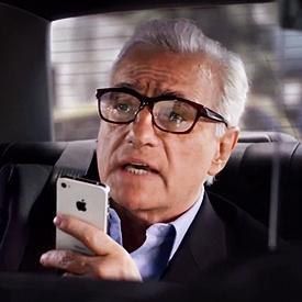 Il regista Martin Scorsese è il nuiovo testimonial di iPhone S4
