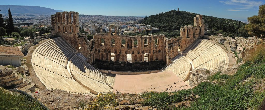 Teatro - Atene - Collina d'Acropoli