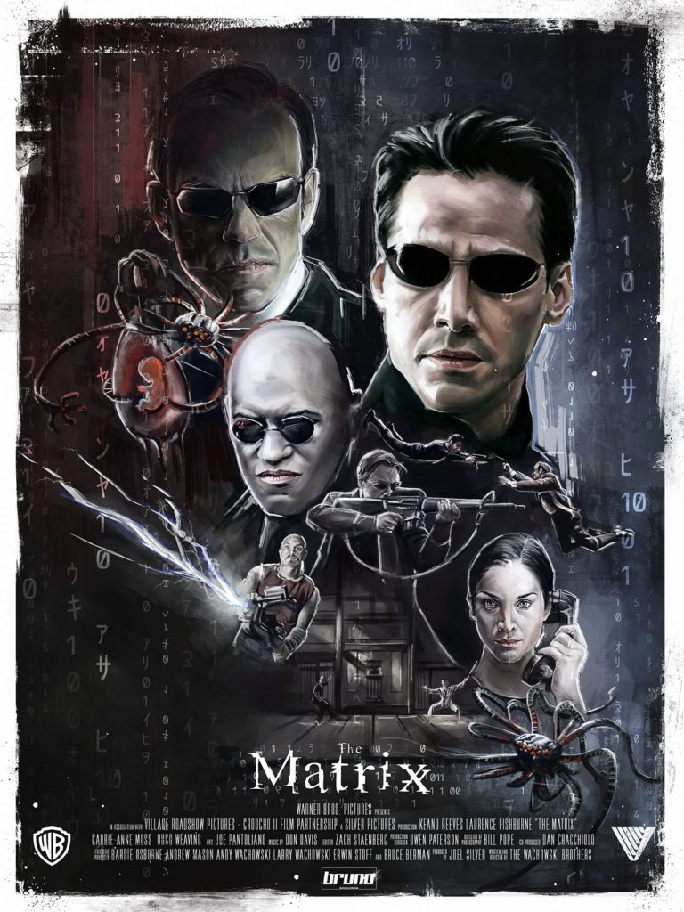 Poster-Matrix-The-Matrix-Protagonista-Kenau-Reeves-1999-Recensione-Comparata