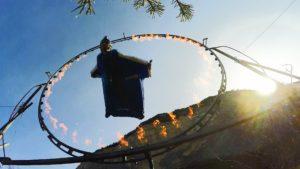 Emanuele Uli - Tuta Alare- Volo nel cerchio di fuoco