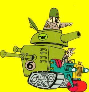 Sodato Meekly & Sergente Blast - Wacky Races