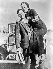 Anni'30 i famosi criminali - Bonnie & Clyde