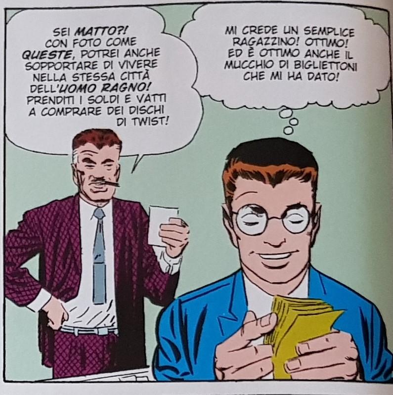 Fumetto-Spider-Man-Duello-allultimo-sangue-con-Avvoltoio-Anno1963-Sceneggiato-Lee-Disegnato-Ditko-Colorato-Duffy-Recensione Comparata (2017)
