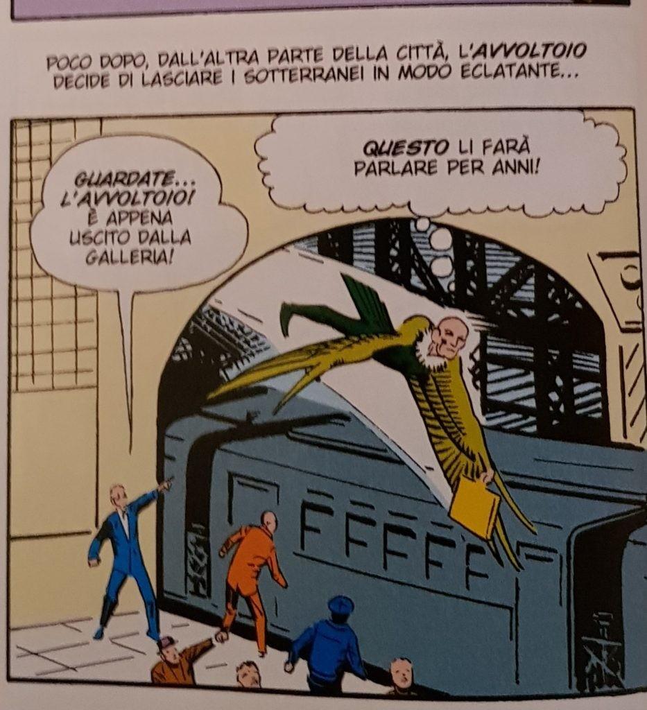 Mitico-Fumetto-Spider-Man-duello-ultimo-sangue-con-Avvoltoio-1963-Recensione-Comparata-2017