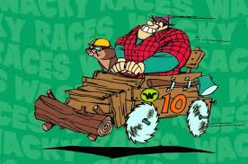 Serie Tv Animata: Wacky Races- vettura 10 di Rufus Roughtcut