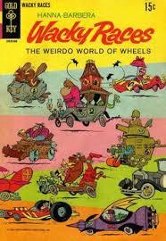 Copertina Fumetto: Wacky Races - Hanna&Barbera