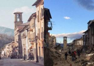 Terremoto Amatrice -2016- Italia