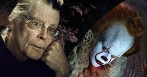 Stephen King e l'attore protagonista del Film: IT -regia: A. Muschietti