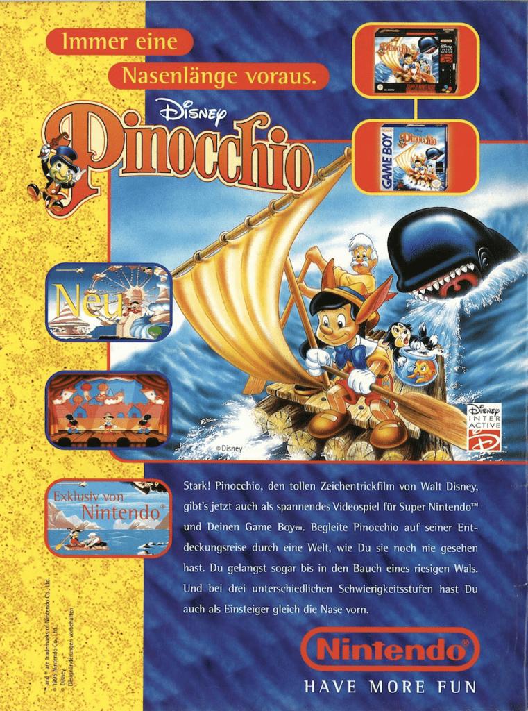 Pinocchio-Videogame-Nintendo-1995-Tratto-dal-Film-D-Animazione-W.-Disney-Recensione-Comaprata-2017
