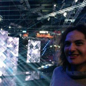 Lara Ceroni- Forum di Assago Milano- Finale di X Factor11