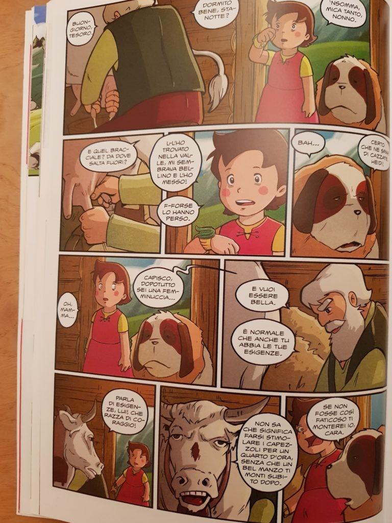 Fumetto: Nazivegan Heidi - Alba Vegana- Edito: MagicPress