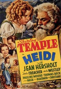 Zocoletti Olandesi (Heidi) 1937- Potagonista: Shierley Temple
