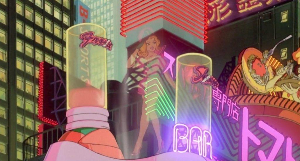 Film d'Animazione: Akira (1988) la città è la Neo-Tokyo 2019