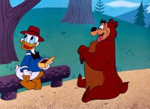 Donald Duck in Grin and Bear It with Donald Duck (1954-Disney)