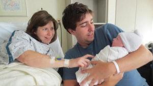 Jeff-Bauman- Erin Hurley - loro figlio