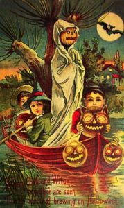 Da Pinterest-Vintage Halloween Postcard- USA