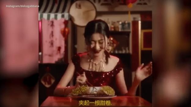 Spot D&G razzista e sessista per la Cina
