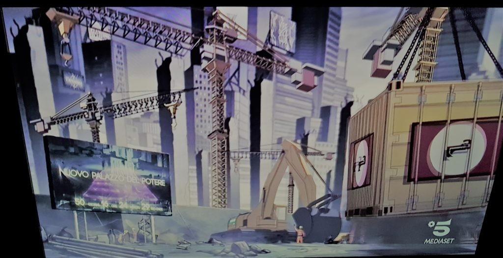 Cartoon-Adrian-Nuovo-Palazzo-del-Potere-Mi-2-Episodio-Recensione-Comparata