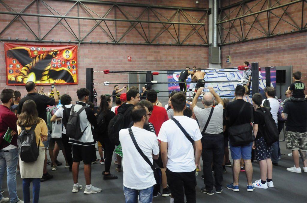 Modena-Nerd-2019-Crossower-werstling-Foto-da-Pagina-Ufficiale-di-Facebook