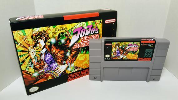 Videogioco-Le-bizzarre-avventure-di-JOJO-Super-Nintendo-Recensione-Comparata-2019
