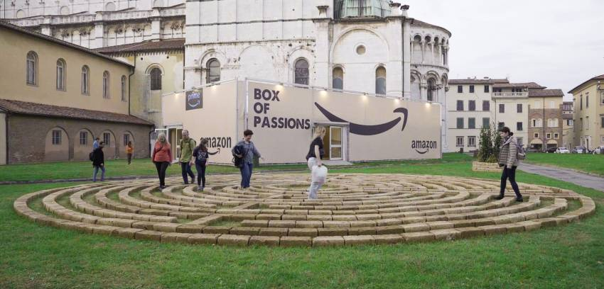 Box-Of-Passion-Amazon-Lucca-Comics-and-Games-2019-Piazzale Mons. G. Arrigoni