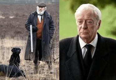 Albert-Finney-interpreta-Kincade-in-Skyfall-vs-Michael-Caine-interpreta-Alfred-Pennyworth-Trilogia-Cavaliera-Oscuro-Uomini-straordinari