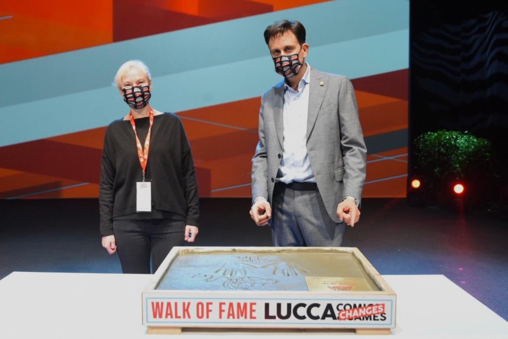Lucca-Changes-2020-Silvia-Ziche-ed-Emanuele-Vietina-Walk-of-Fame-Il-29-Ottobre-al-Teatro-del-Giglio