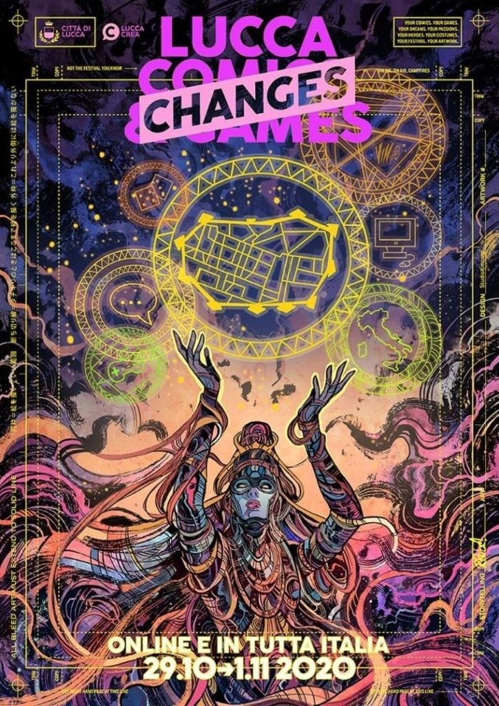 Lucca-Changes-2020-Poster-dellartista-Vincenzo-Riccardi