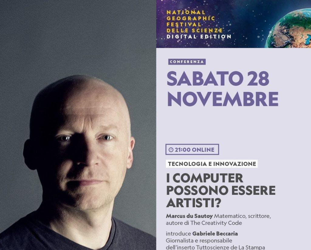 National-Geographic-Festival-delle-Scienze-Fuibile-Online-I-Computer-possono-essere-artistici