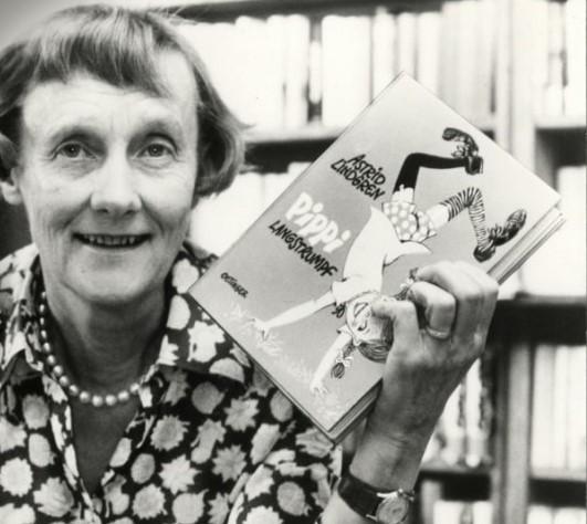 Autrice-Astrid-Lindgren-Libro-di-Pippi-Calzelunghe-Idea-Originale-di-successo