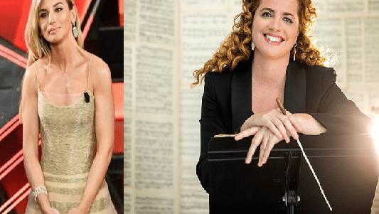 Le-stranezze-di-Sanremo-Direttore-d-orchestra-Beatrice-Vezzi-co-conduttrice-al-Festival-ma-mai-l-altro-direttore-d-orchestra-Speranza-Scappucci