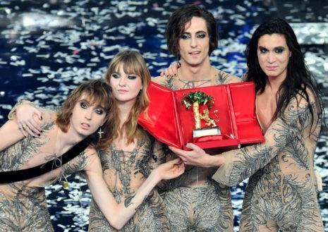 Sanremo-2021-Vittoria-dei-Maneskin-con-la-canzone-Zitti-e-Buoni