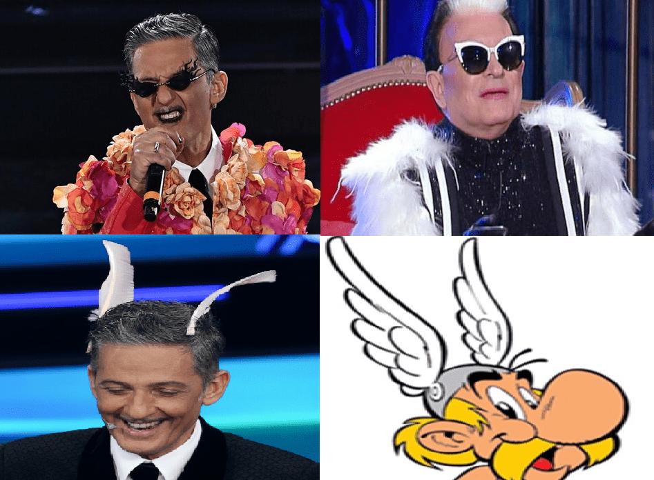 Saremo-2021-Fiorello-e-le-sue-trasformazioni-dal-cantautore-Malgioglio-al-personaggio-di-fantasia-Asterix
