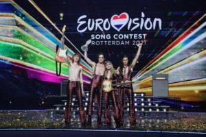 I Maneskin orgoglio Nazionale vincono gli Eurovision 2021